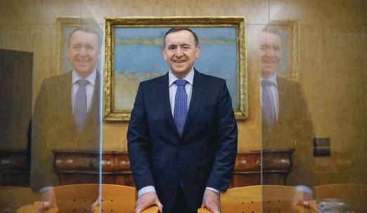 ?? Foto Leon Vidic ?? Krka bo pod vodstvom Jožeta Colariča med delničarje razdelila pet evrov bruto dividende na delnico.