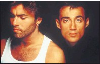 ??  ?? WHAM!: Michael and Andrew Ridgeley became chart-toppers.