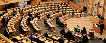 ??  ?? Division: The Holyrood election, in May, will focus on the independence issue