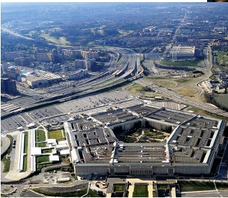 ??  ?? STRIKING OUT By enhancing the U.S. military's ability to strike from afar, AI drones could mean more frequent strikes at far-flung targets, such as Iranian general Qasem Soleimani, who was assassinated in January 2020 while visiting Iraq. Right: Demonstrations in Tehran following Soleimani's death. Below: the Pentagon in Washington, D.C.