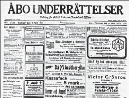??  ?? 1911. Då publicerade även ÅU en artikel om Mezzofanti.