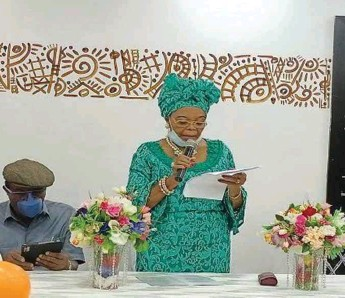 ??  ?? Chief Opral Benson delivering her opening remarks at the event held in Lagos
