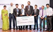 ??  ?? Winner – University of Sri Jayewardenepura team
