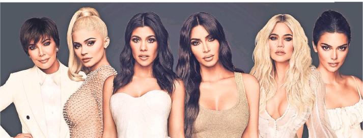 """?? FOTO: OBS/HAYU ?? """"Keeping Up With The Kardashians""""begleitet die Milliardärs-Familie in ihrem Alltag: Kris, Kylie, Kourtney, Kim, Khloe und Kendall."""