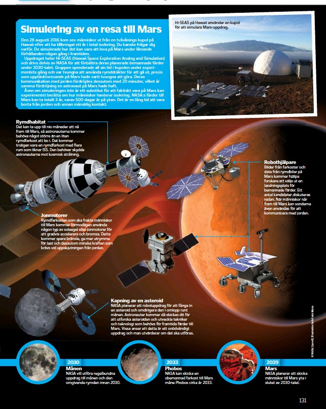 ??  ?? Hi-SEAS på Hawaii använder en kupol för att simulera Mars-uppdrag.