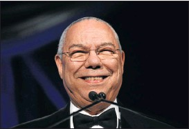 ?? Picture: AFP PHOTO ?? CRITICISM: Republican General Colin Powell blasted Trump on Wednesday as a national disgrace and an international pariah.