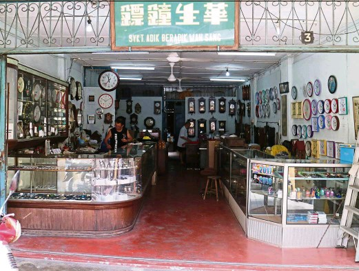 ?? — Photos: LIM WEII LIIAN ?? Wah Sang Brothers shop in Klang, Selangor, has been around for almost nine decades.
