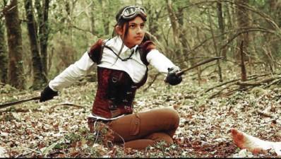 ?? DR ?? La jeune Fei Le Gal incarne l'héroïne Mechanika Girl, née dans le pays d'Auray, et dont les aventures seront à suivre sur la plateforme Youtube et sur la page Facebook de l'association morbihannaise Carpeta.