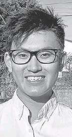 ?? PROVIDED BY ROGER LIN ?? Roger Lin, 21, is a senior at the University of Utah in Salt Lake City.
