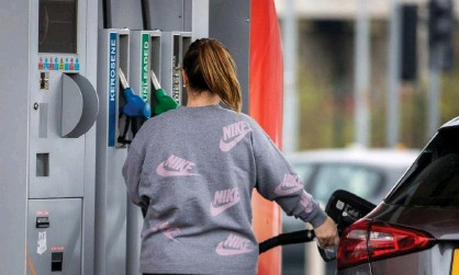 ??  ?? Fuel duty in the UK has been frozen for the 11th year in a row. Photograph: Liam McBurney/PA