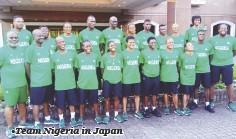 ??  ?? •Team Nigeria in Japan