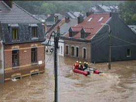 ?? FOTO RR ?? Vorige week waren de Vlaamse brandweerkorpsen nog wel gewenst.