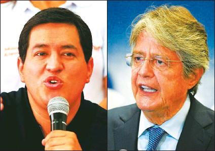 ?? CEDOC PERFIL ?? SEGUNDA VUELTA. El ganador de la segunda vuelta electoral el próximo 11 de abril, entre Andrés Arauz y Guillermo Lasso asumirá la presidencia de Ecuador el 24 de mayo para el periodo 2021-2025.