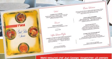 ??  ?? world renowned chef Jean-georges Vongerichten will premiere the Paris café restaurant at the 512-room TWA hotel at John F. kennedy International Airport, opening in spring 2019. The restaurant will serve breakfast, lunch, dinner, snacks and cocktails at a medium price point.
