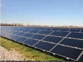 ??  ?? Smaller-scale generation projects connected to local distribution systems are on the rise, as are opportunities for consumers to self-generate power.