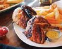 ??  ?? Los Chicos Brasa in Markham serves Peruvian-style rotisserie chicken.
