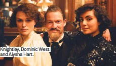 ??  ?? Knightley, Dominic West and Aiysha Hart.