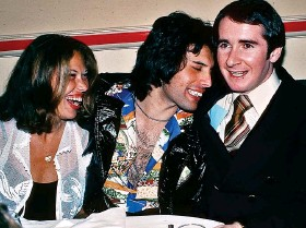 ??  ?? Friend and client: The late Freddie Mercury with Reid in 1977