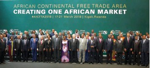 ??  ?? African Continental Free Trade Area seeks to domestic the continent's economy