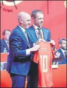 ??  ?? La UEFA envió una notificación a la RFEF
