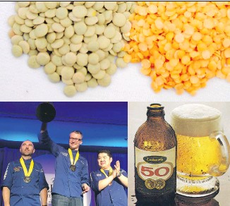 ??  ?? The Bloody Caesar, lentils, Canada's top chef and the beloved (or not) stubby beer bottle are all part of a fun test to flesh out your foodie fitness.