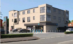??  ?? ●●CGI of proposed Co-op in Heald Green