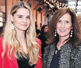 ??  ?? Brigitte Kenny and Chantal Kenny