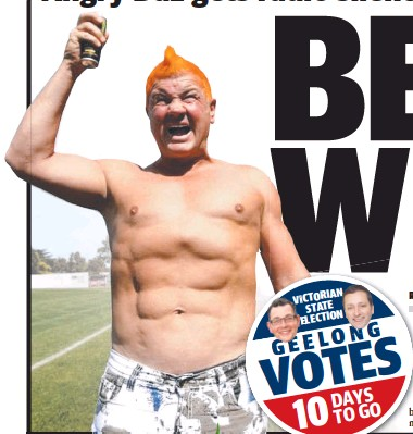 Pressreader Geelong Advertiser 2018 11 14 Belly Whack