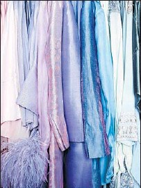 """??  ?? """"UNTITLED #5"""" of Elizabeth Taylor's closet in the MOCA exhibit """"700 Nimes Road,"""" the address of late actress' home."""