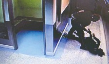 ??  ?? Const. Alexander Dunn said he believed Dalia Kafi had slipped from her handcuffs when he slammed her face first to the cement floor.