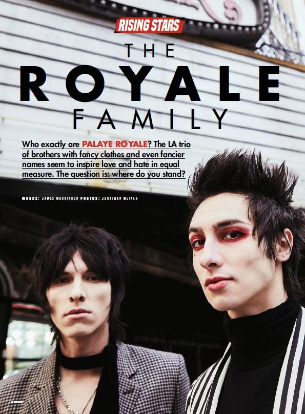 Pressreader Kerrang Uk 2018 05 05 Palaye Royale Love Them Or