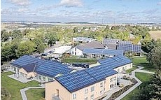 ??  ?? Adopting solar photovoltaic technology helped the German district of Rhein-Hunsrueck hit its 100 per cent renewable energy target in 2012.