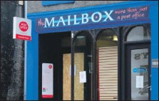??  ?? Lochgilphead has been without a post office since June 2020.