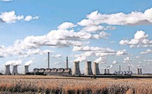 ??   African News Agency (ANA) Archives ?? STEAM rises from the cooling towers of the Matla power station, a coal-fired power plant operated by Eskom in Mpumalanga.