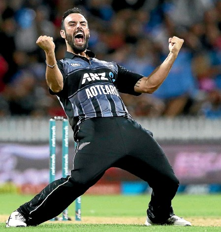 ?? GETTY IMAGES ?? Daryl Mitchell has a big chance to nail down a regular spot in New Zealand's Twenty20 team when the series against the West Indies begins tomorrow night.