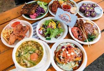 ?? LEO M. SABANGAN II ?? HAWKERS' HEAVEN Regional delicacies at the World Street Food Jamboree, which closes today at Bonifacio Global City.