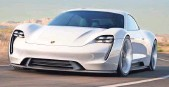 ??  ?? Porsche says the Mission E, which can go from zero to 62 mph in less than 3.5 seconds, will become a production car within five years. PORSCHE