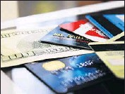 ?? Alex Schmidt Getty Images ?? A DISADVANTAGE of credit card debt is the variable interest rates charged on most cards.