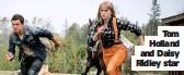 ??  ?? Tom Holland and Daisy Ridley star