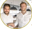 ?? ?? Rael Demby, CEO of SAGCE and The Scoin Shop, and Dane Viljoen, co-founder and chief sales officer of Troygold