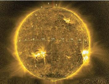 ?? ESA ?? Die Solar Orbiter hat erste Filme von Partikeleruptionen aus der Sonnenatmosphäre aufgenommen.