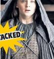 ??  ?? Earlier in the season, Sansa Stark was raped by new husband Ramsay.