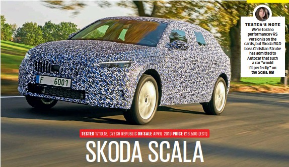 Pressreader Autocar 2018 10 24 Skoda Scala