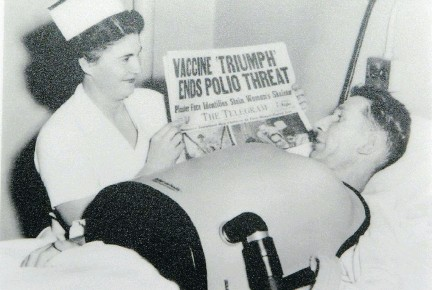 ?? BRUNO SCHLUMBERGER/THE OTTAWA CITIZEN FILES ?? After the 1950s success of the Salk vaccine, polio was virtually eliminated in Canada.