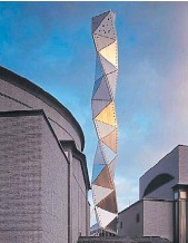 ?? YASUHIRO ISHIMOTO ?? Art Tower Mito (1990). Obra de Isozaki en Japón.