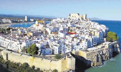 ?? MEDITERRÁNEO ?? Peñíscola, considerado uno de los pueblos más bonitos de España, prepara un plan centrado en la sostenibilidad.