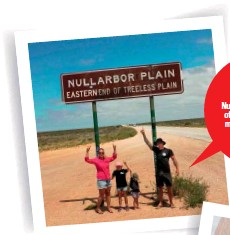??  ?? IT'S LATIN If you didn't know, Nullarbor is a contraction of the Latin nulla/nullus meaning 'no' and arbor meaning 'tree'.