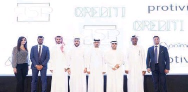 ??  ?? ↑ Top officials pose for a group photo in Dubai.