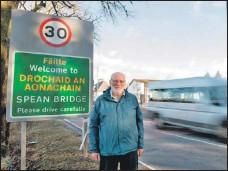 ?? Photograph: Abrightside Photography. ?? Spean Bridge, Roy Bridge and Achnacarry chairman John Fotheringham.