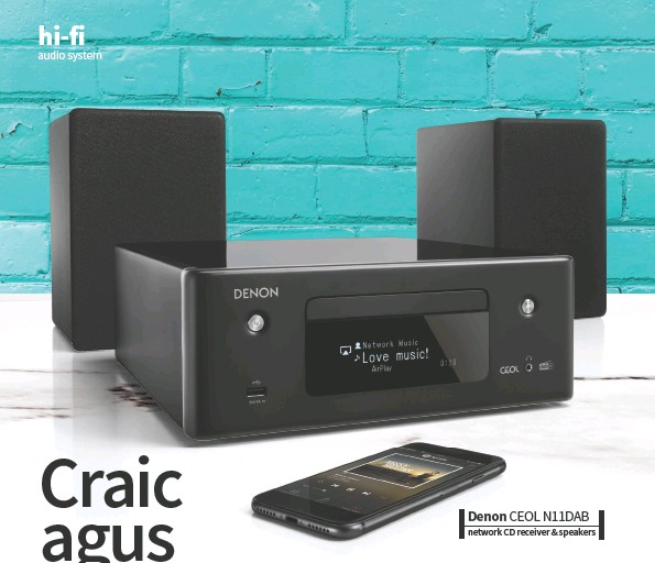??  ?? Denon CEOL N11DAB network CD receiver & speakers